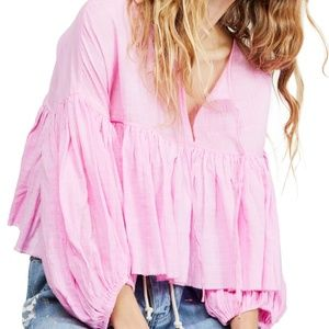 Free People Tops - FREE PEOPLE Beaumont Mews Blouse, Main, color, 650